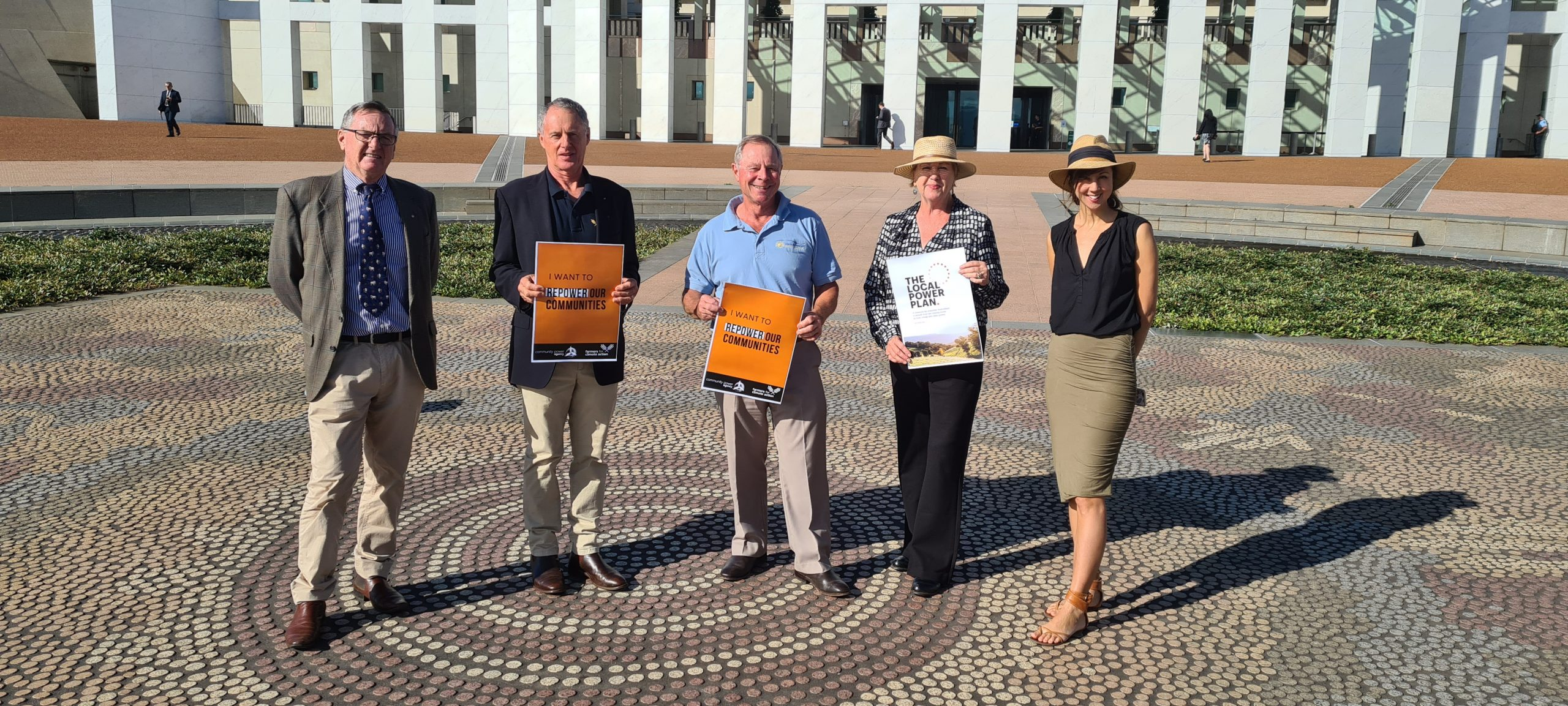 Central West farmer in Canberra to back renewables for regional renewal